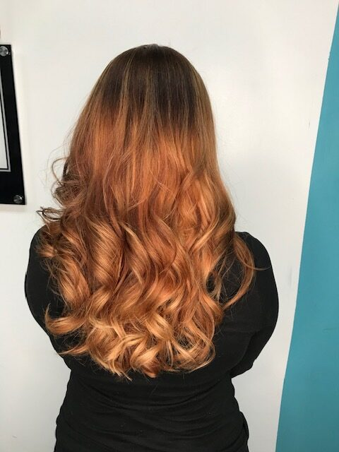 Cut and color by Lisa