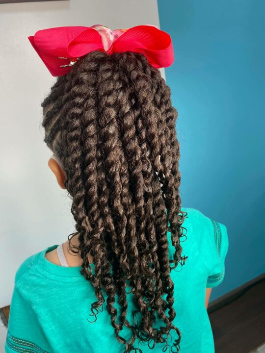 Little girls hair by Daisy